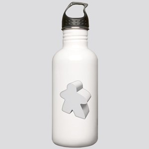 White Meeple Stainless Water Bottle 1.0L
