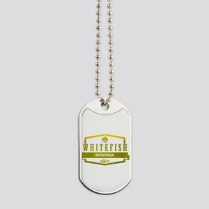 Whitefish Ski Resort Shirts Montana Dog Tags