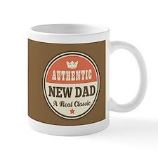 Vintage new dad Design Gift Mugs