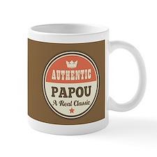 Vintage Papou Design Gift Mugs