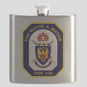 USS Meyer DDG 108 Flask
