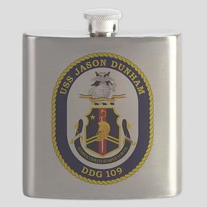 USS Dunham DDG 109 Flask