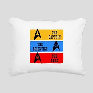 Captain Scientist Dead Rectangular Canvas Pillow