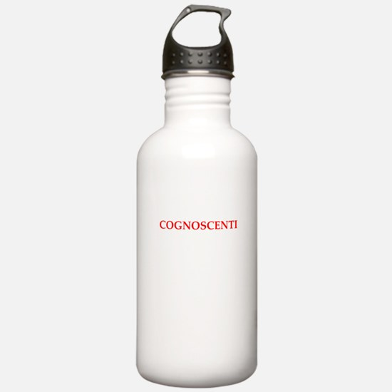 cognoscenti Water Bottle