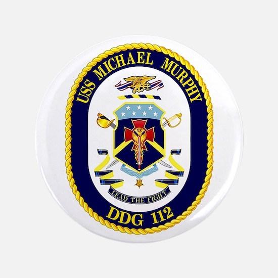 """USS Murphy DDG 112 3.5"""" Button"""