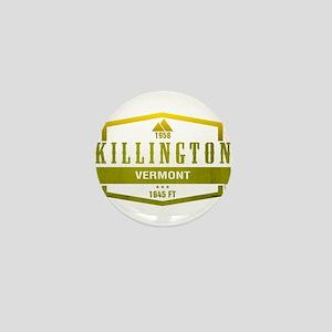 Killington Ski Resort Vermont Mini Button