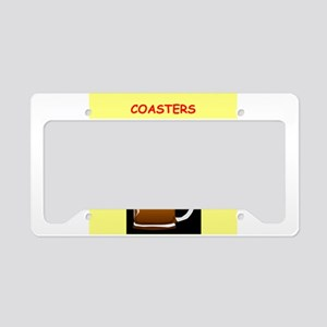 beer drinker License Plate Holder