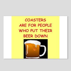 beer drinker Postcards (Package of 8)