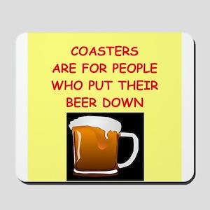 beer drinker Mousepad