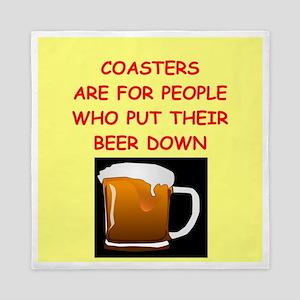 beer drinker Queen Duvet