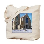 Building Slogan Tote Bag