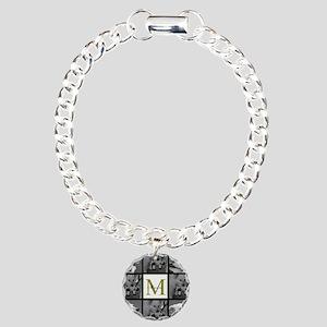 Beautiful Photo Block and Monogram Bracelet