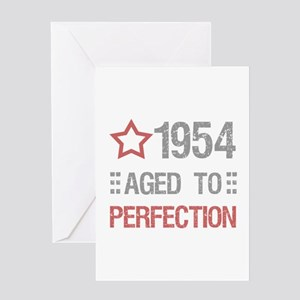 1954 Aged To Perfection Greeting Card