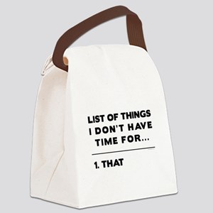 THAT Canvas Lunch Bag