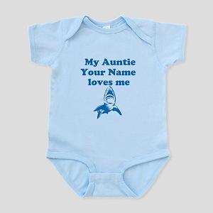 My Auntie Loves Me Shark (Custom) Body Suit