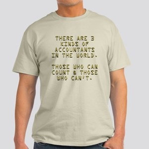 3 Accountants Light T-Shirt