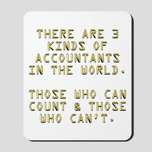 3 Accountants Mousepad