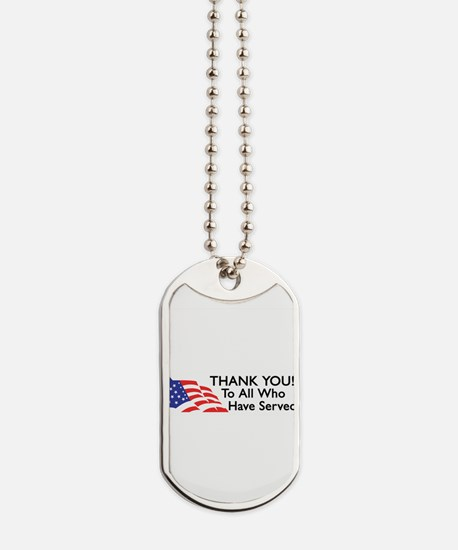 Unique Support our troops Dog Tags
