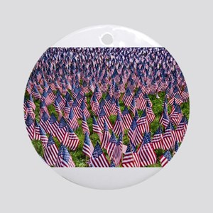 American Flags Ornament (Round)
