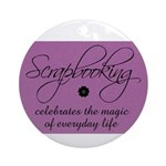 Scrapbooking - Everyday Magic Ornament (Round)