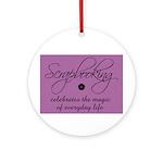 Scrapbooking - Everyday Magic Ornament (Round)