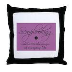 Scrapbooking - Everyday Magic Throw Pillow