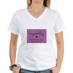 Scrapbooking - Everyday Magic Women's V-Neck T-Shi