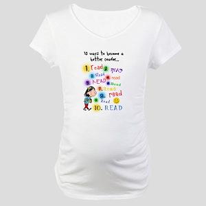 Read Better Maternity T-Shirt