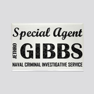 SPEC AGENT GIBBS Rectangle Magnet