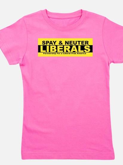 Funny Anti liberal Girl's Tee