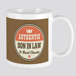 Vintage Son-in-law Design Gift Mugs