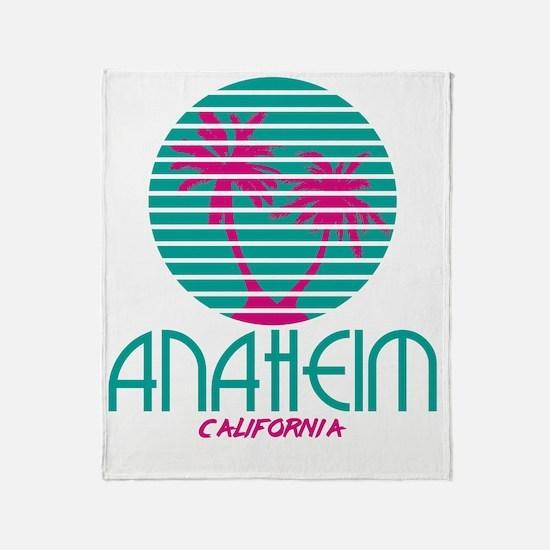 Cool Anaheim california Throw Blanket