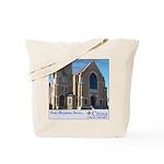 Building Slogan Tote Bag