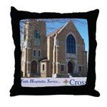 Building Slogan Throw Pillow