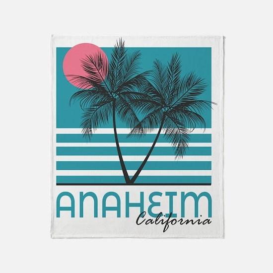 Cute Anaheim california Throw Blanket