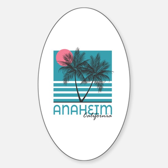 Cute Anaheim Sticker (Oval)
