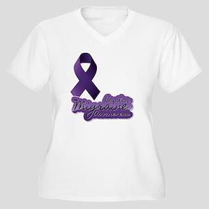 BMA Women's Plus Size V-Neck T-Shirt