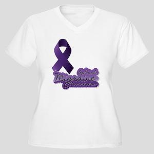 OMA Women's Plus Size V-Neck T-Shirt