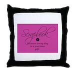 Scrapbook - Every Day a Preci Throw Pillow