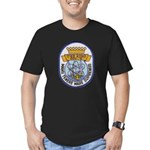 USS KING Men's Fitted T-Shirt (dark)