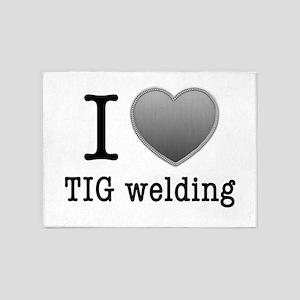 I love TIG welding 5'x7'Area Rug