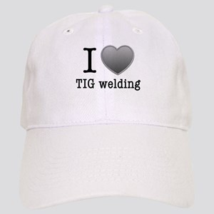 I love TIG welding Baseball Cap
