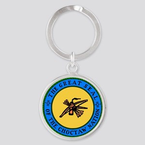 Great Seal Of The Choctaw Nation Keychains