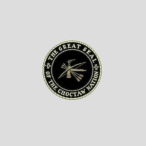 Choctaw Seal Mini Button