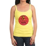 I'm allergic to nuts-pink Jr. Spaghetti Tank