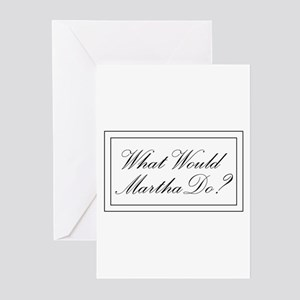 What Would Martha Do? Greeting Cards (Pk of 10