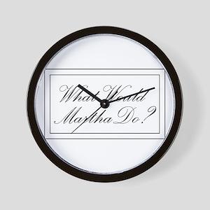 What Would Martha Do? Wall Clock