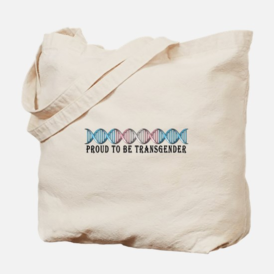 Transgender Pride DNA Tote Bag