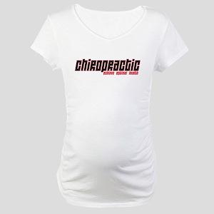 Chiro Optimal Health Maternity T-Shirt