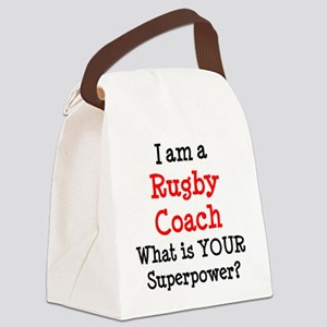 rugby coach Canvas Lunch Bag